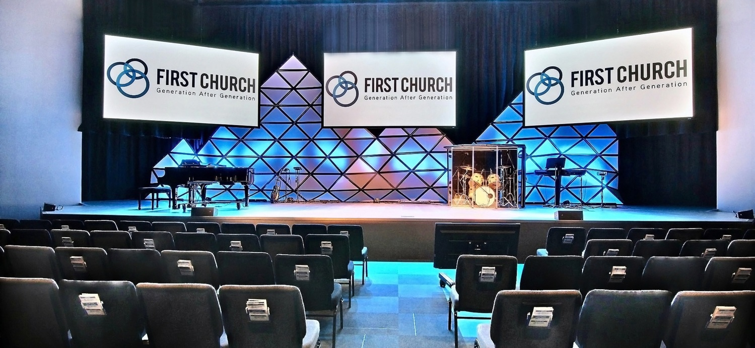 First Church DeMotte Facility Auditorium 1