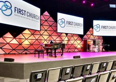First Church DeMotte Facility Auditorium 3