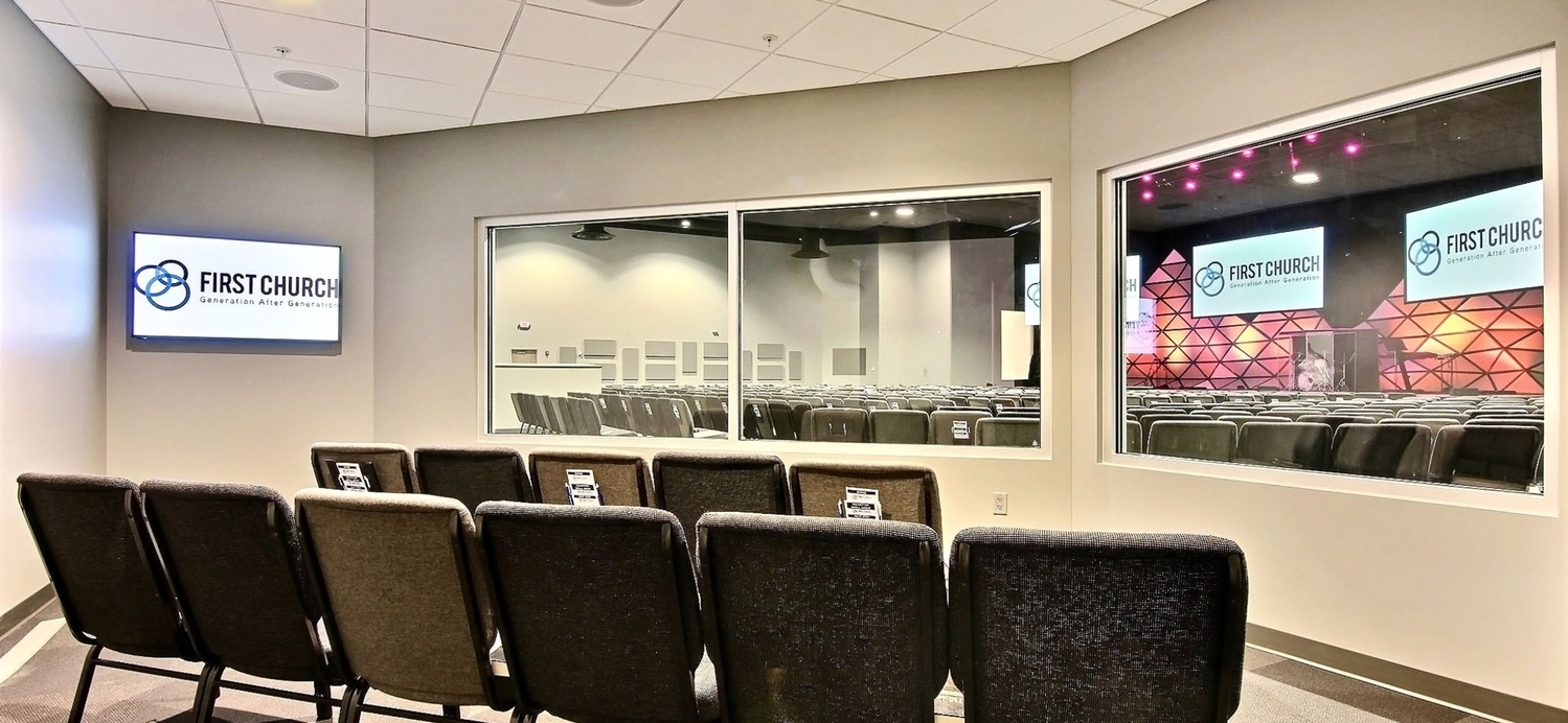 First Church DeMotte Facility Cry Room