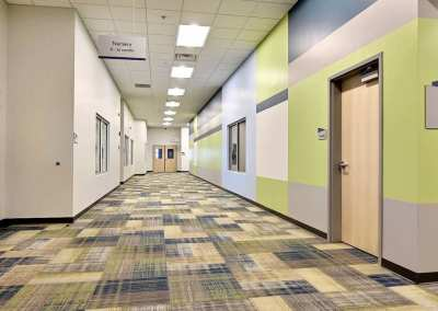 First Church DeMotte Facility Kids Hallway