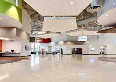 First Church DeMotte Facility Lobby 1