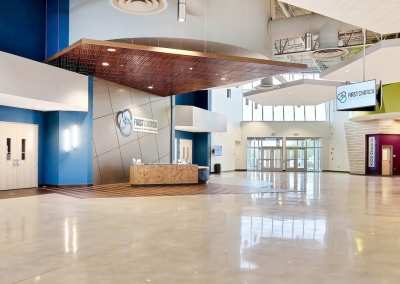 First Church DeMotte Facility Lobby 2