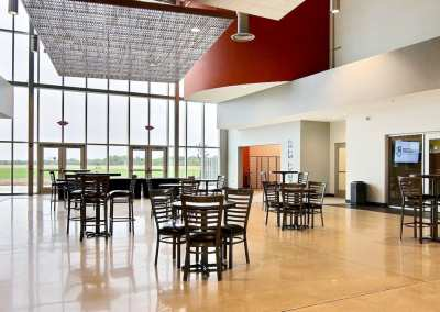First Church DeMotte Facility Lobby Gathering Area 2