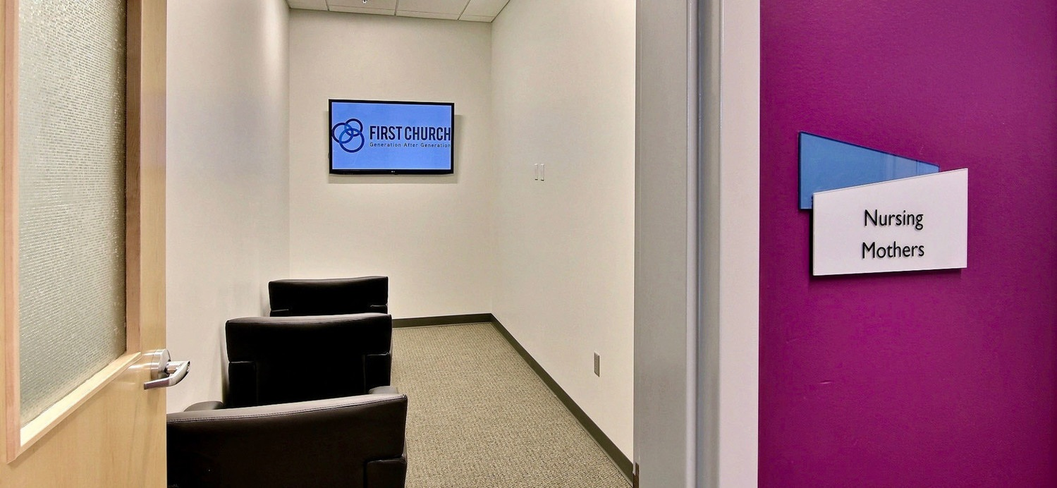 First Church DeMotte Facility Nursing Mothers Room