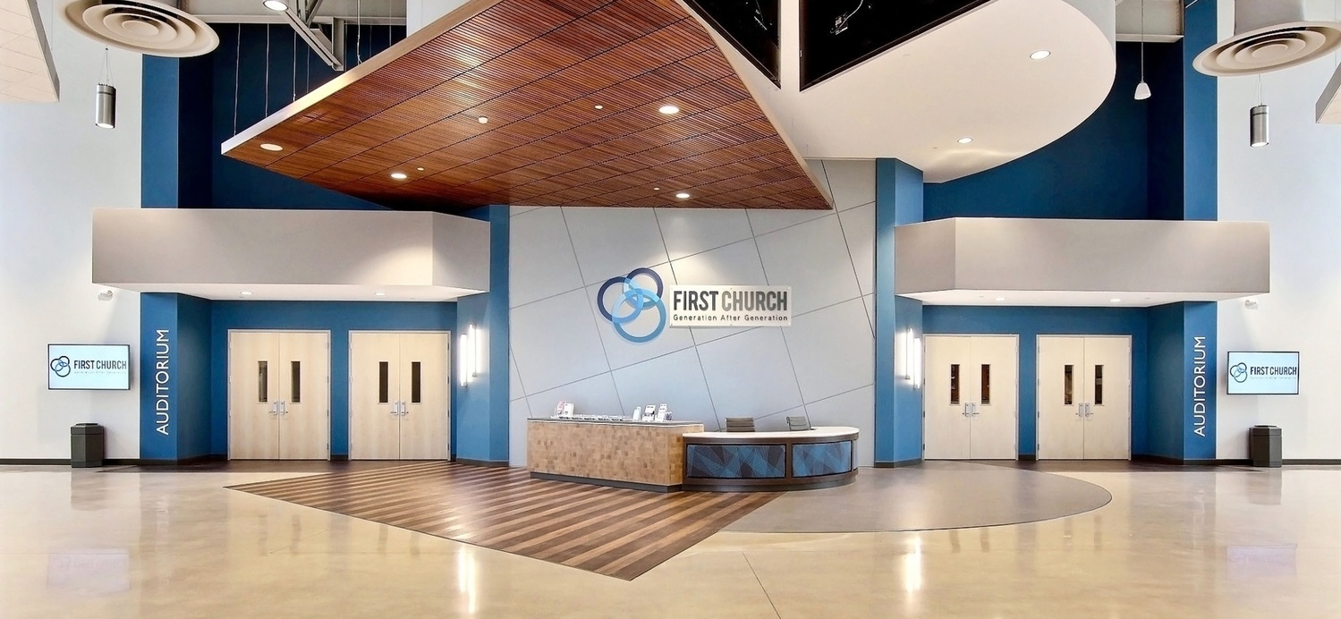 First Church Demotte Facility Welcome Desk