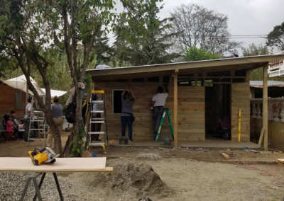Guatemala House Being Built