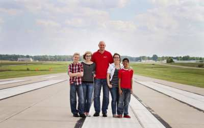 Jack and Angie Hamstra with Mission Aviation Fellowship (MAF)